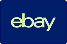 eBay Digital Gift Card - Blue, One Card So Many Options  - Email Delivery