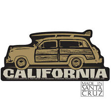 Woodie Woody Santa Cruz or California Sticker - Bumpersticker Decal Tim Ward