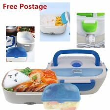 Portable Electric Heat Preservation Lunch Box Food Warmer Outdoor 40W 12V EW