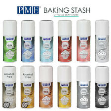 PME Edible Lustre Spray Paint for Cake Decorating and Icing Colouring - 100ml