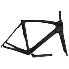 Full Carbon Road Bike Frame 50/53/55/57cm Racing Bicycle Frameset Black Matte