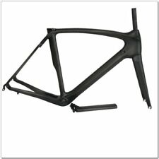 Carbon Fiber Road Bike Frames 50/53/55/57cm Black Bicycle Frameset Fork Seatpost