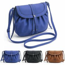Fashion Women Girls Leather Shoulder Bag Crossbody Messenger Hobo Satchel Purse