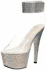 Pleaser BEJEWELED-712RS/C/SMCRS Womens Bejeweled-712 Platform- Choose SZ/Color.