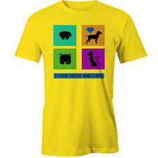I love dogs and cats T-Shirt Animal