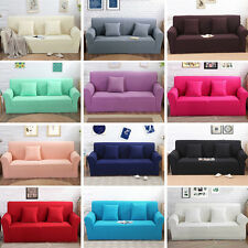 1 2 3 Slipcover Seat Stretch Jacquard Elastic Sofa Cover Couch Furniture Protect