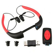 New8GB Waterproof Sport MP3 Player FM Radio for Swimming Surfing Diving Earphone