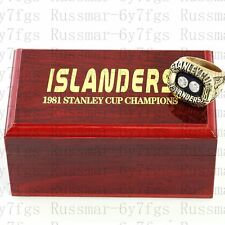 1981 New York Islanders Stanley Cup Championship Copper Ring Size 10-13 Solid