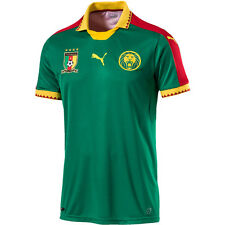 2016/2017 CAMEROON  HOME SOCCER JERSEY  AUTHENTIC PUMA