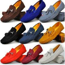 9 Color US Size 5-11 Fashion Leather Slip On Mens Driving Moccasin Loafers Shoes