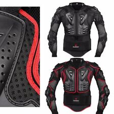 Motorcycle Full Body Armor Jacket Spine Protection Gear Motocross Outdoor Sports