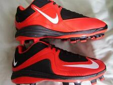 Nike Max Air Mvp Pro 2 II Mcs Baseball Cleats Spikes Sz 13 Black / Orange