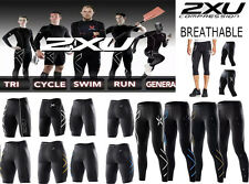 2XU Men Compression Tights Fitness Pants Running Sportwears Sports Gym Cycling