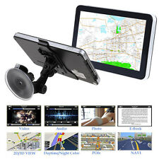 7'' 8GB Truck Car GPS Navigator Navigation System Sat Nav Bluetooth Free Maps