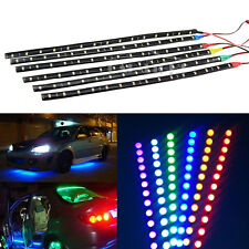 Waterproof 30CM 15 LED 3528 Flexible Strip Light 12V Lamp Car Motor Truck Decor