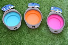 Collapsible Pet water Bowl Dogs/Puppies/Cats/Kittens!