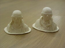 1/10th -1/12th models aircraft pilot, WW2 RAF SPITFIRE or GERMAN, Ready to paint