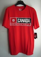 NEW $35 Nike Men's Canada Basketball Shirt Dri Fit Size LARGE XLARGE soccer usa