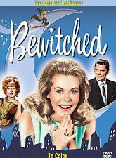 ELIZABETH MONTGOMERY + ~ BEWITCHED COMPLETE FIRST SEASON 1 ~ 4 DVD SET