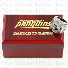 2009 Pittsburgh Penguins Stanley Cup Championship Copper Ring Size 10-13 Solid