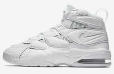 Nike AIR MAX-2 UPTEMPO-94 MEN'S SHOES Foam Midsole WHITE- US 10,10.5, 11 Or 11.5
