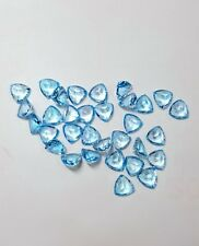 Natural Sky Blue Topaz Calibrated Size Trillion Cut Top Quality Loose Gemstone