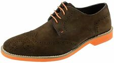 Red Tape Laxford Brown Lace Up Suede Brogue Mens Shoes
