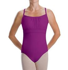 NEW Dance Leotard ADULT SIZES Lots Shirred Camisole Ballet Jazz Gymnastics