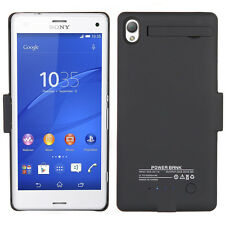 External 3200mAh Battery Backup Charger Case Cover Power Bank For Sony Xperia Z3