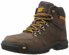 Caterpillar Outline Soft Toe Seal Brown Mens Work Boots Leather P74087