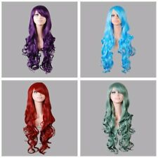 "Wavy Curly Hair New Fancy Dress Cosplay Wigs Full Wig Muliti-color 32""80cm Long"