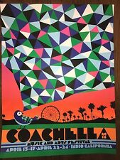 2016 Coachella Music and Arts Festival Art Print Poster Nate Duval Signed