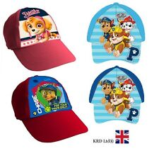 Kids PAW PATROL Character Baseball Cap Boys Girls Childrens Adjustable Gift NEW