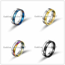 FREE Wholesale Lots 50Set=100Pcs Fashion Stainless Steel Rings Valentine Party