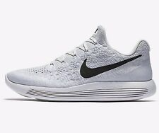 Nike LUNAREPIC LOW FLYKNIT2 MENS RUNNING SHOES,WHITE/BLACK-Size US 11,11.5 Or 12
