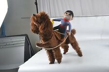 Pet Suit Cowboy Small Dog Clothes Puppy Coats Jackets Teddy Shirts Costume Gift