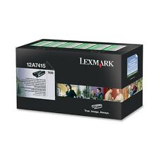 Lexmark Toner Cartridge - Laser - High Yield - 10000 Pages - Black - 1 Each (12A
