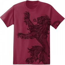 Game Of Thrones HOUSE LANNISTER DISTRESSED LION SIGIL T-Shirt NWT Licensed