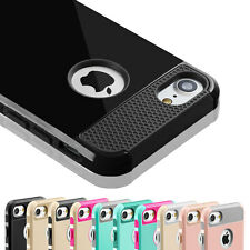 Shockproof Heavy Duty Protective Hard Shell Cover Case For Apple iPhone 5 5s SE