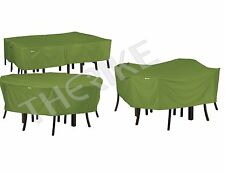 Classic Accessories Sodo Patio Table Set Covers Square, Round, Rectangular/Oval