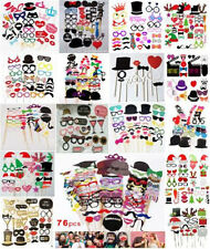 Party Wedding Christmas Photo Booth Props Set Mustache On A Stick Photography