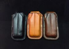 Custom Leather Open Top Case/Sheath for the Leatherman Wave New Formed Fit