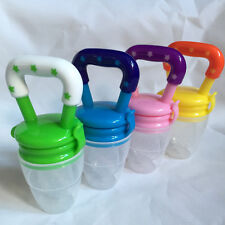 Feeding Pacifier Baby Fresh Food Fruits Soup Feeder Dummy Soother Weaning Nipple