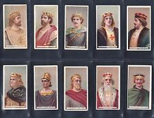 Cigarette cards. Wills Kings & Queens (short card, thin) - choose your number
