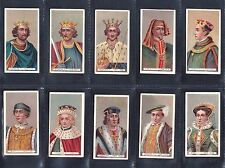 Cigarette cards. Wills King & Queens (short card, thick) - choose your number