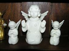 """Vintage Lot of 3 Goebel Angels praying w/ mark 4"""" tall Made in West Germany"""