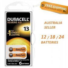 Duracell Hearing Aid Batteries Size 13 Orange  ~ Exp 2020-06