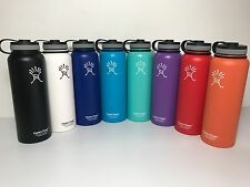 40oz Hydro Flask Insulated Stainless Steel Water Bottle, Wide Mouth