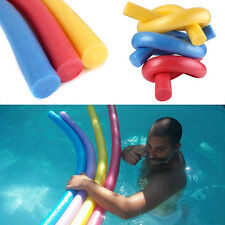 New Fun Swimming Solid Flexible Swim Pool Noodle Water Float Aid Woggle Noodles