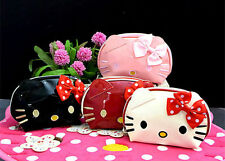 New Hellokitty Cosmetic Handbag make up Bag Pencil Clutch Storage Case lyo-226a1